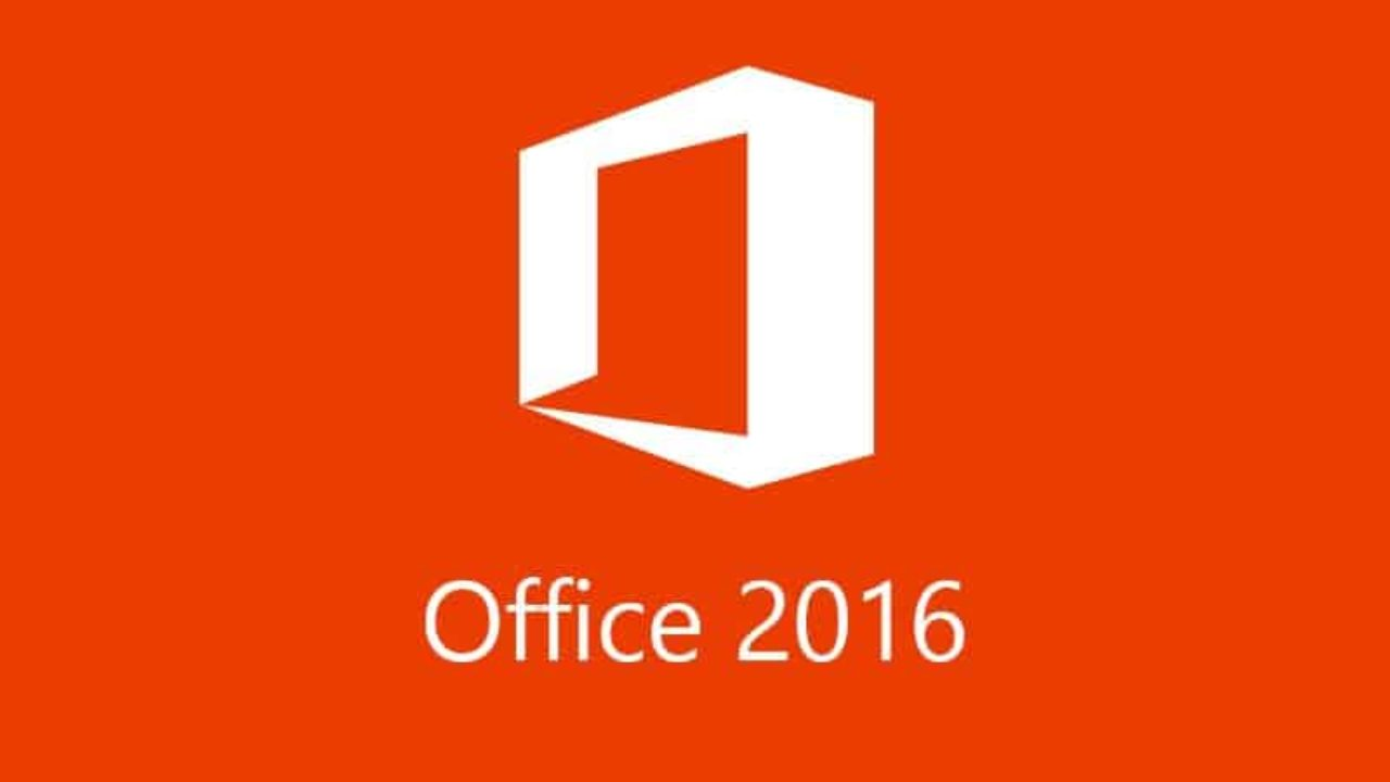 Microsoft Office 2016 Cover