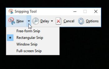 2 Easiest Ways To Take Screenshots in Windows 10; PrtScn and Snipping Tool