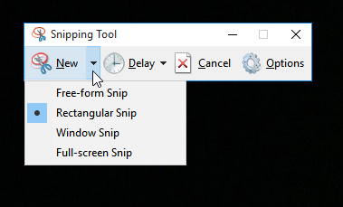 2 Easiest Ways To Take Screenshots in Windows 10; PrtSc and Snipping Tool 3