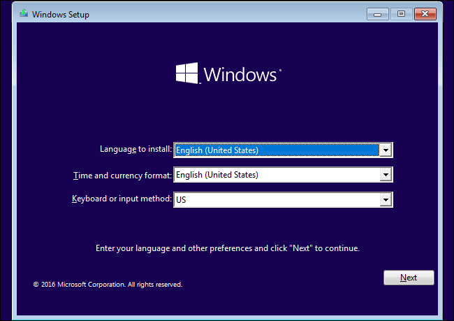 How to Install Windows 10 from USB Screenshot