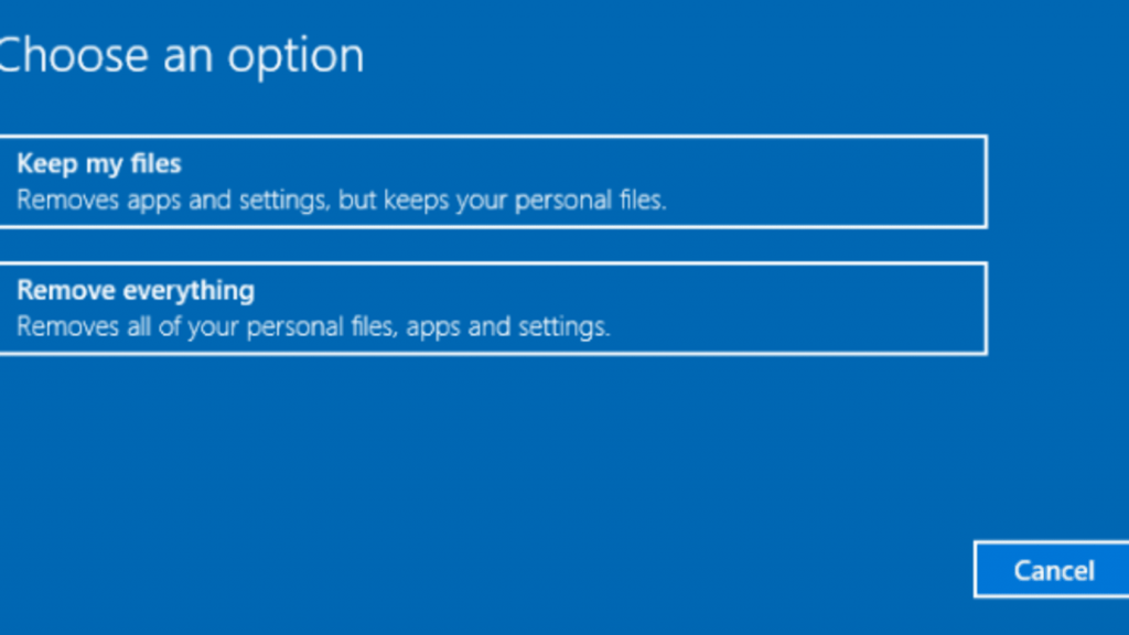 How to Factory Reset Windows 10 Direct and Easy 2