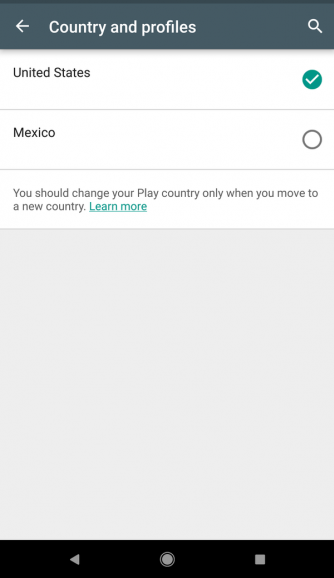 How to Change Your Country (Region) in Google Play Store