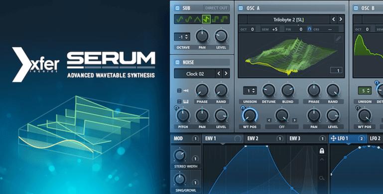 Xfer Records Serum & Serum FX Cover