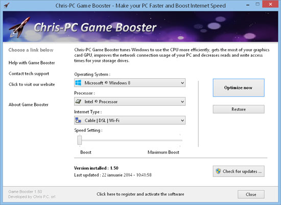 Chris-PC Game Booster 5.12.21 Crack + Serial Key [Latest]