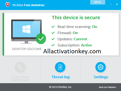 McAfee Antivirus Crack Download