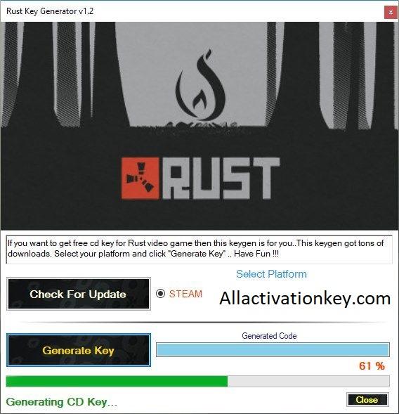 Rust PC Game CrackDownload