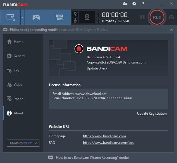 Bandicam 5.0.2.1813 + Crack Plus Activation Key [2021]