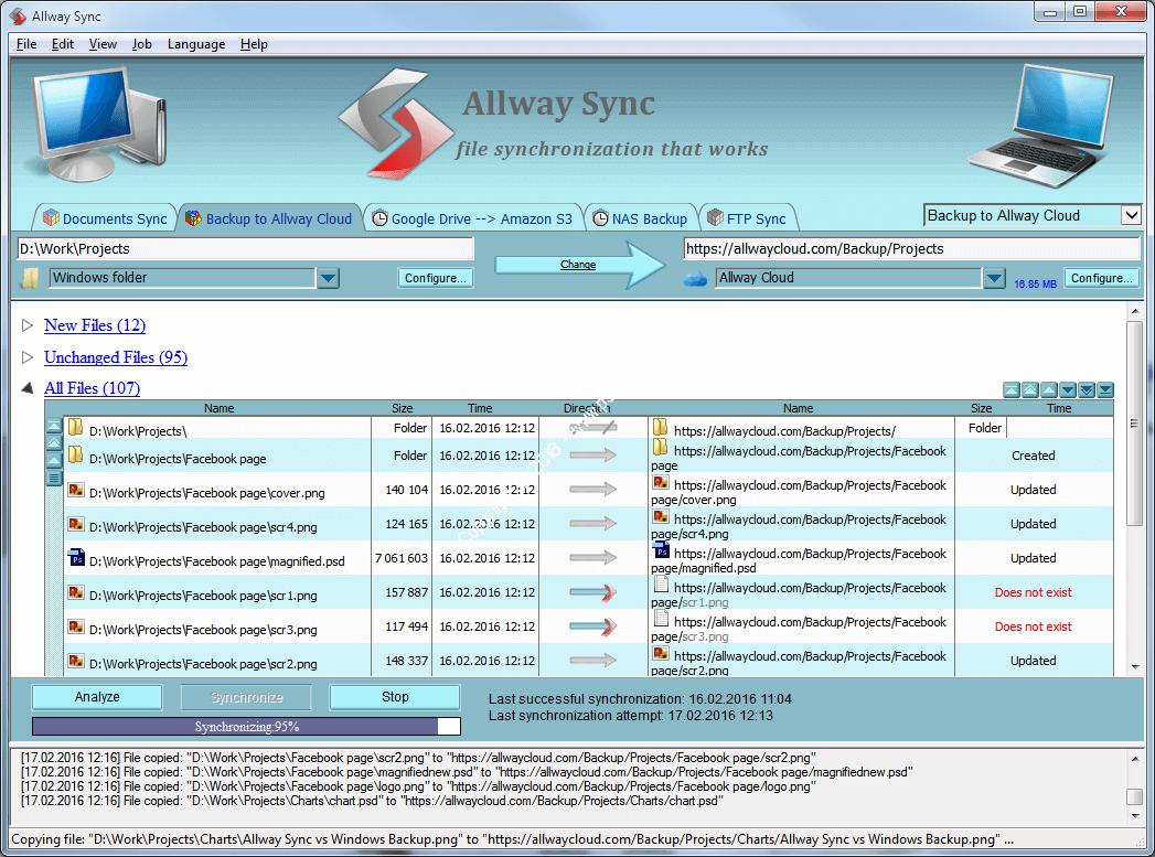 Allway Sync Pro 21.0.4 Activation Key + Crack (x86/x64) 2021 Free