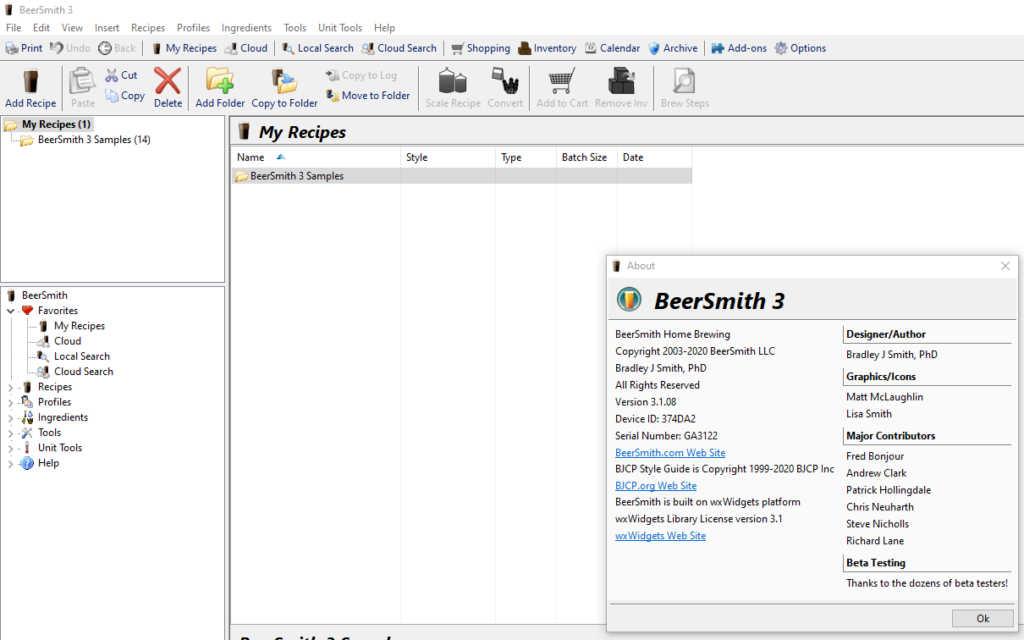 BeerSmith 3.1.8 Crack + Activation Key Latest 2021 Free Download