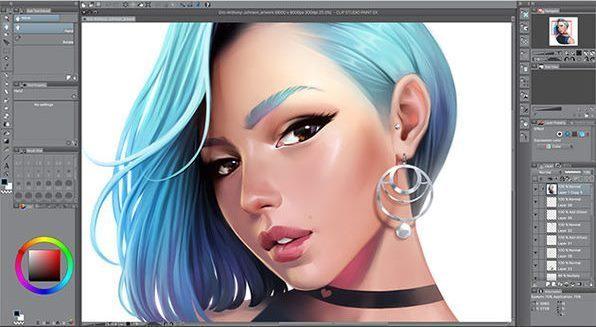 Clip Studio Paint EX 1.10.6 Crack + Keygen 2021 Latest