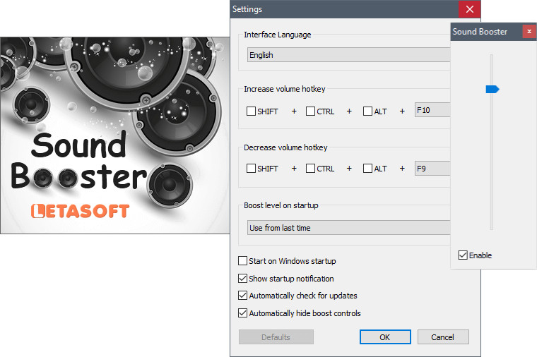 Letasoft Sound Booster 1.11 Crack with Product Key 2021 Latest