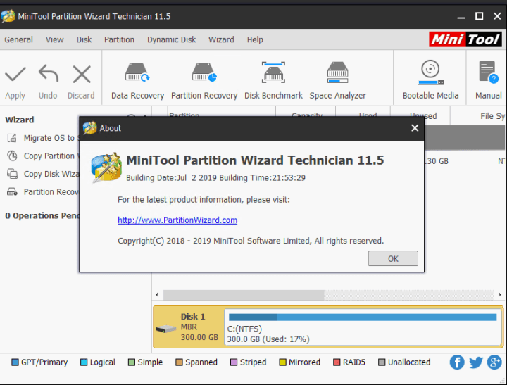 MiniTool Partition Wizard Crack 12.4 + Serial Key 2021 [Latest] Free