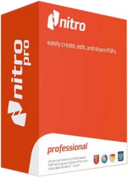 Nitro Pro Crack 13.40.0.811 + Serial Number [32/64 Bit] 2021