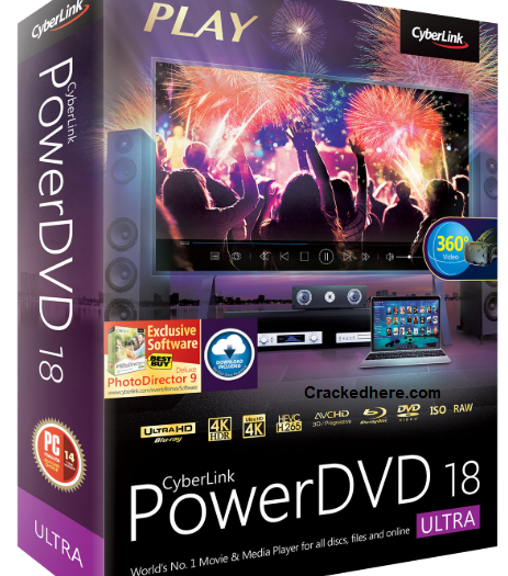 CyberLink PowerDVD Ultra 21.0.1519.62 Crack & License Key [Latest Version]