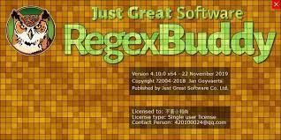RegexBuddy 2.9.5.0 Crack With Activation Key [2021] Free Download