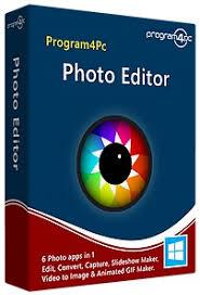Program4Pc Photo Editor 7.8 Crack Plus Serial key [2021] Free