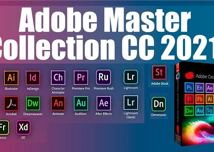 Adobe Master Collection 2021 v7 Crack + License Key (X64)