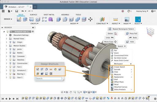 Autodesk Fusion 360 2.0.10564 Crack + Keygen Full (2021)