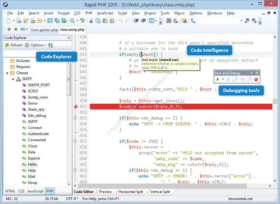 Blumentals Rapid PHP 16.3.0.231 Full Crack & Activation Key [Latest Version]