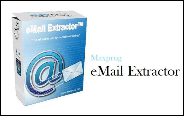 Maxprog eMail Extractor 3.8.4 Crack + Serial Key Full 2022