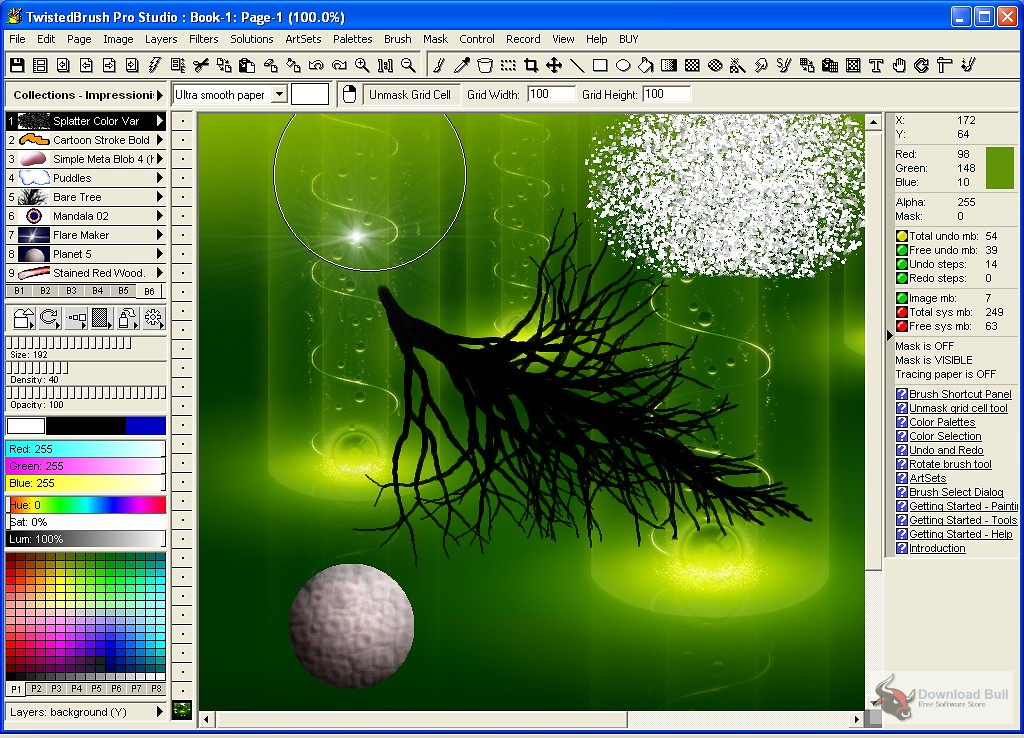 Pixarra TwistedBrush Pro Studio 25.02 Crack + keygen (2022)