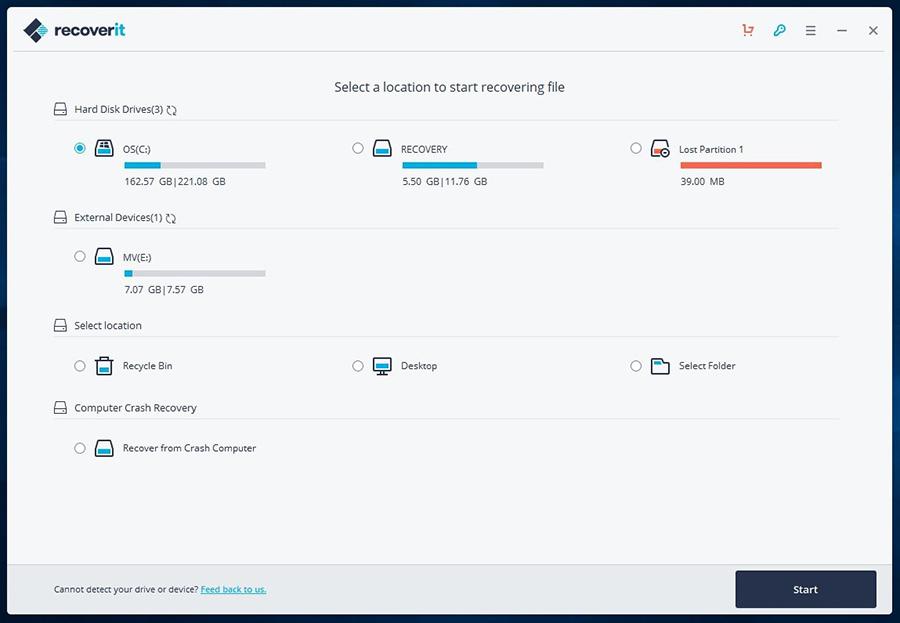 Wondershare Recoverit 10.0.0.48 Crack + Keygen [Latest] 2022