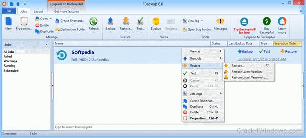 FBackup Crack 9.1 Build 369 + License Key Full 2022 [Latest]
