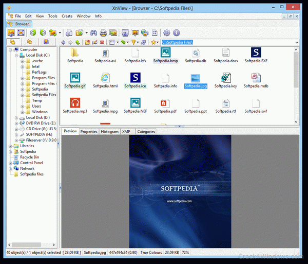 XnView Crack 2.51.1 + Serial Key Free Download [Latest] 2022